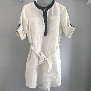 White tie dress